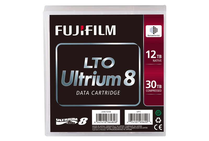 LTO 8 Tape Media Back